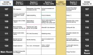 edcampsfbay 2015 schedule